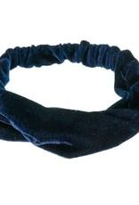 Siena Siena Haarband fluweel donkerblauw