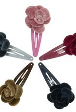 Siena Siena Knipje grijs met roos