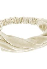 Siena Siena Haarband fluweel  beige