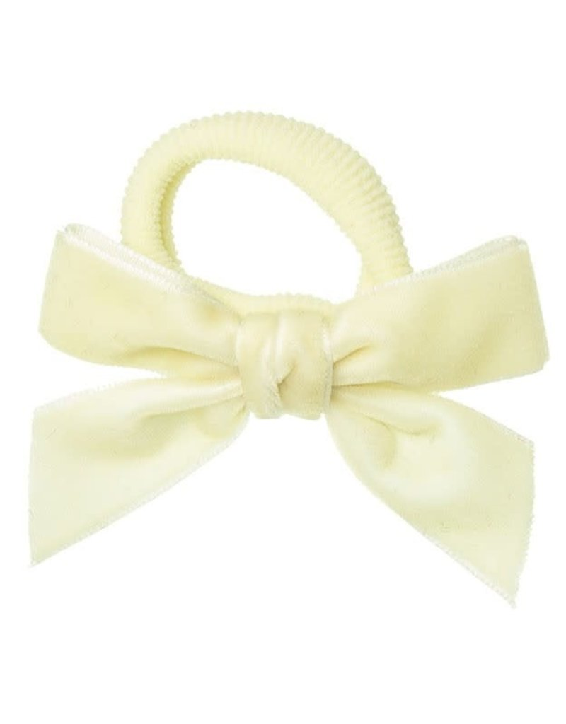 Siena Siena elastiek  off white met fluwelen strik