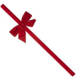 Siena Siena  Haarband met rood fluwelen  strik