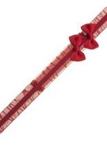 Siena Siena haarband   rood met 2 strikjes