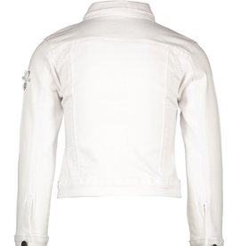 Le Chic Le Chic denim jacket voile flowers C012-5188 White Denim