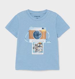 Mayoral Mayoral Lenticular t-shirt s/s Lavender - 21 01003