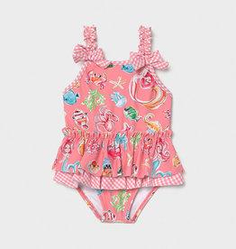 Mayoral Mayoral Girl swimsuit Flamingo - 21 01719