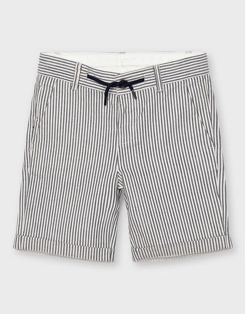 Mayoral Mayoral Striped bermuda shorts Navy - 21 03229