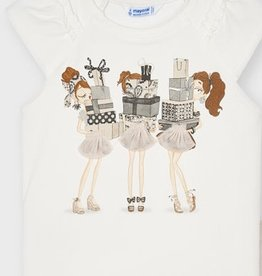 Mayoral Mayoral  Shirt girls off white
