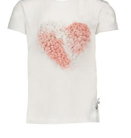 Le Chic Le Chic T Shirt cotton 3d heart