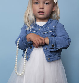 Le Chic Le Chic Jacket denim silver piping