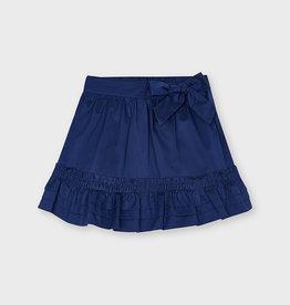 Mayoral Mayoral Poplin skirt Ink - 21 03906