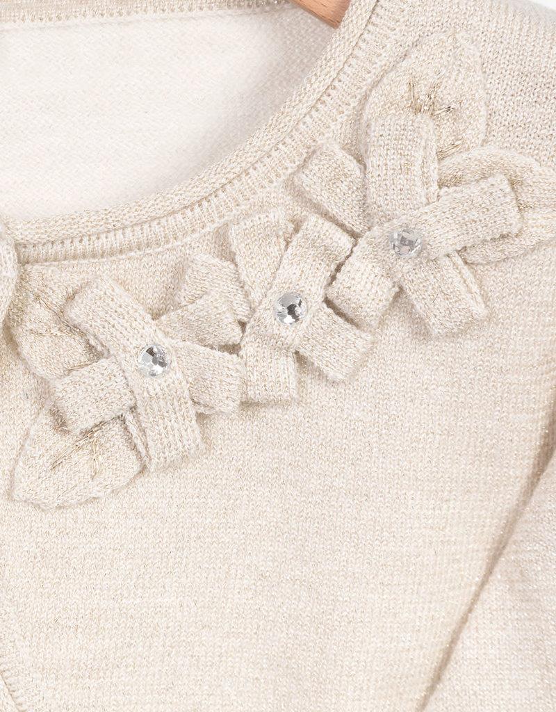 Abel & Lula Abel & Lula Basic knit cardigan Champagne - 21 05320