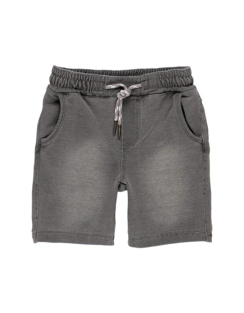 Boboli Boboli Fleece bermuda shorts denim for boy GREY 522144