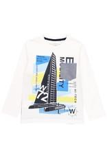 Boboli Boboli Knit t-Shirt for boy WHITE 502018
