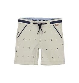 Boboli Boboli Stretch gabardine bermuda shorts for boy print 502221