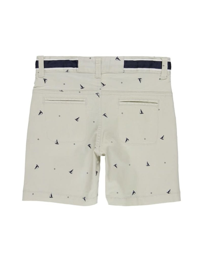 Boboli Boboli Stretch gabardine bermuda shorts for boy print 502221