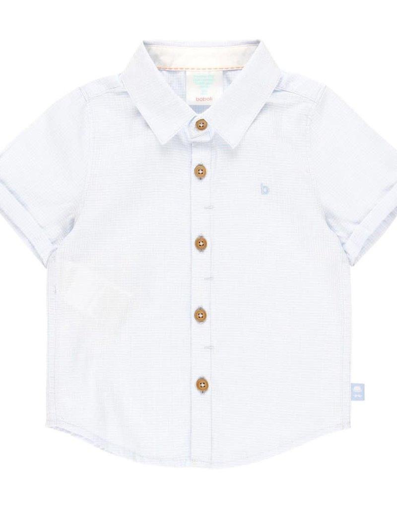 Boboli Boboli Shirt fantasy for baby boy BLUE 712022