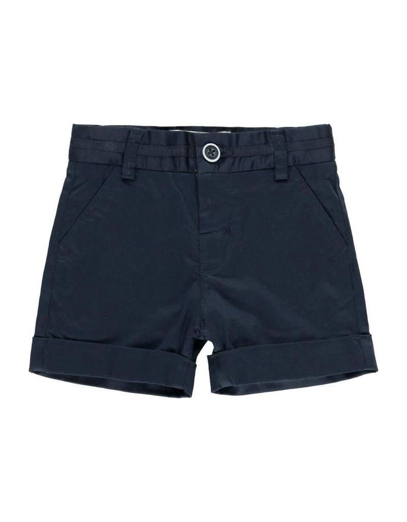 Boboli Boboli Satin bermuda shorts stretch for baby boy NAVY 712099