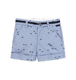 Boboli Boboli Shorts oxford for baby boy print 712190