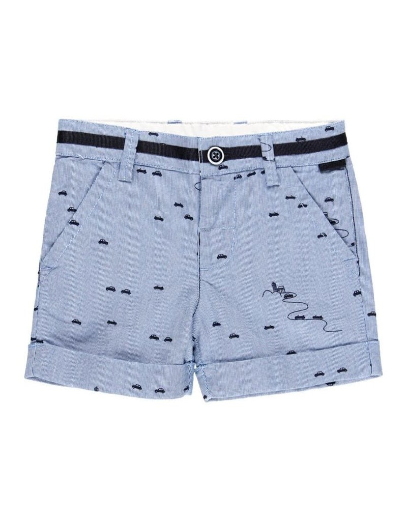 Boboli Boboli Shorts oxford for baby boy print 712190