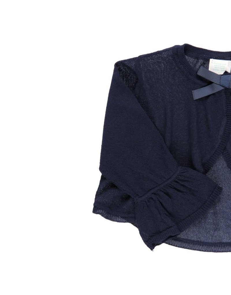 Boboli Boboli Knitwear jacket for girl NAVY 722067