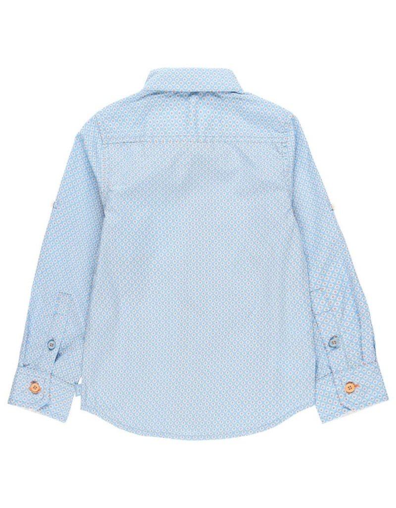 Boboli Boboli Poplin shirt fantasy for boy print 732136