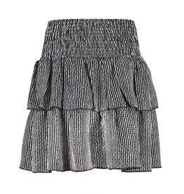 Frankie&Liberty Frankie&Liberty Sanne Skirt BLACK - WHITE PATTERN - FL21106