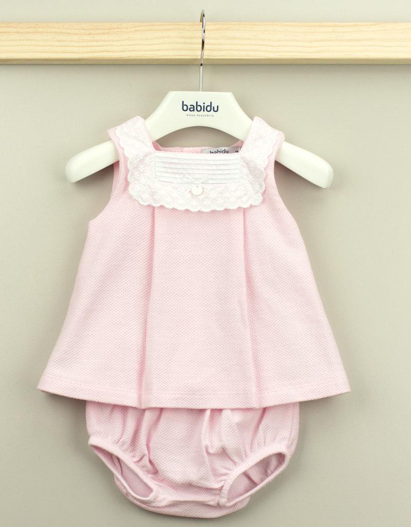 Babidu Babidu  dress  pink