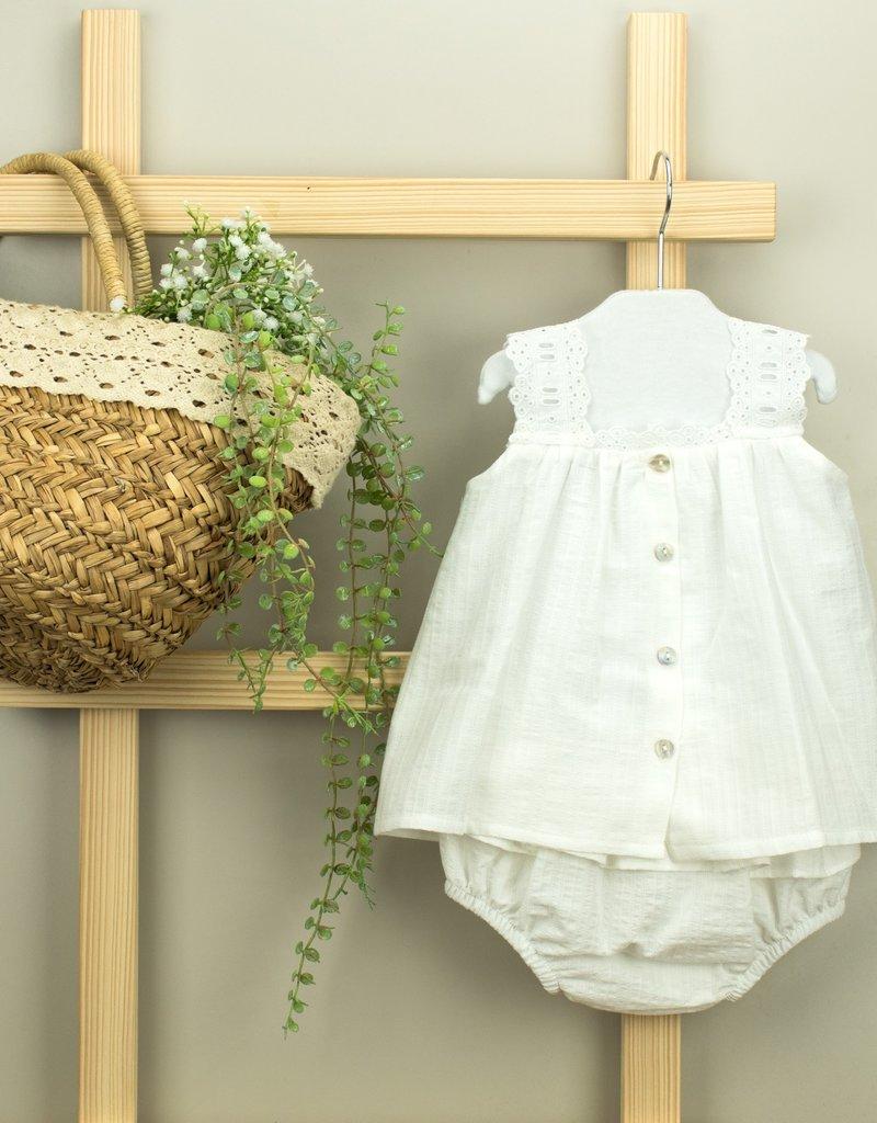 Babidu Babidu  dress  white