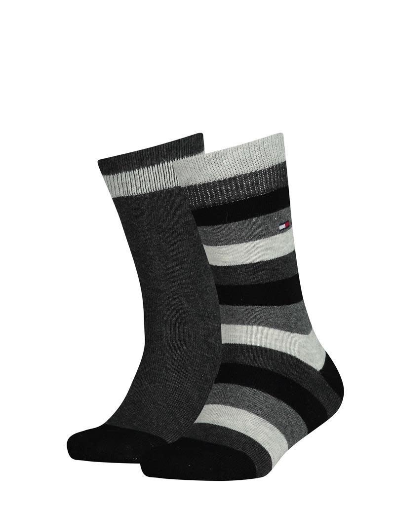Tommy Hilfiger ommy Hilfiger sokken  grijs/gestreept