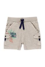 Boboli Boboli Knit bermuda shorts flame for baby boy saber 342098