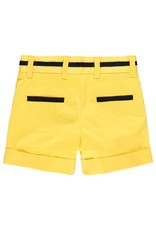 Boboli Boboli Satin bermuda shorts stretch for baby boy limone 712099