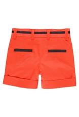 Boboli Boboli Satin bermuda shorts stretch for baby boy pomodoro 712099