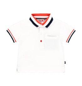 Boboli Boboli Pique polo for baby boy WHITE 712224