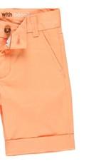 Boboli Boboli Satin bermuda shorts stretch for boy apricot 732079