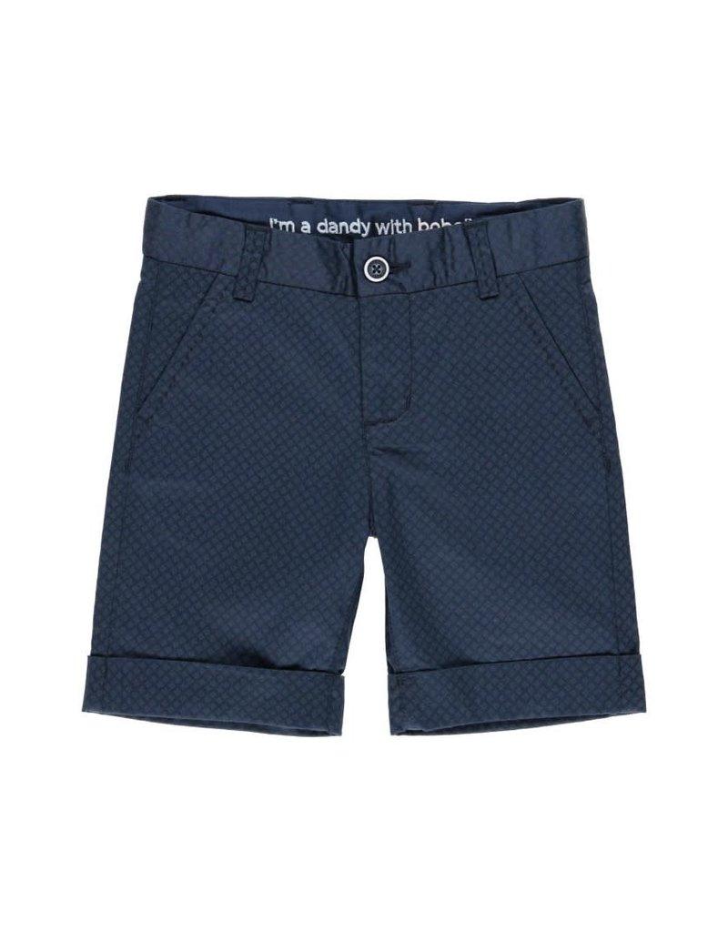 Boboli Boboli Satin bermuda shorts stretch for boy print 732204