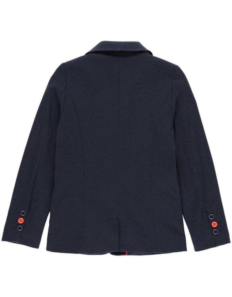 Boboli Boboli Knit blazer fantasy for boy NAVY 732440