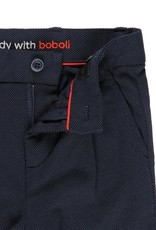 Boboli Boboli Knit trousers fantasy for boy NAVY 732451