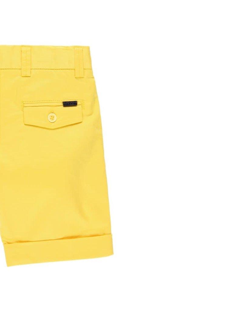 Boboli Boboli Satin bermuda shorts stretch for boy limone 732079
