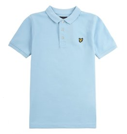Lyle&Scott Lyle&Scott Classic Polo Shirt Sky Blue Sky Blue - LSC0145S-026