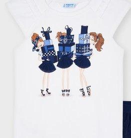 Mayoral Mayoral  shirts girls blue