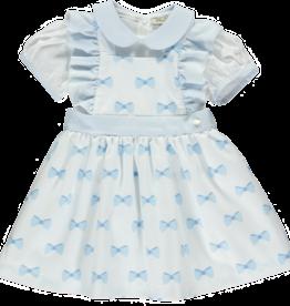 Piccola Speranza Piccola  Speranza  blue  dress set