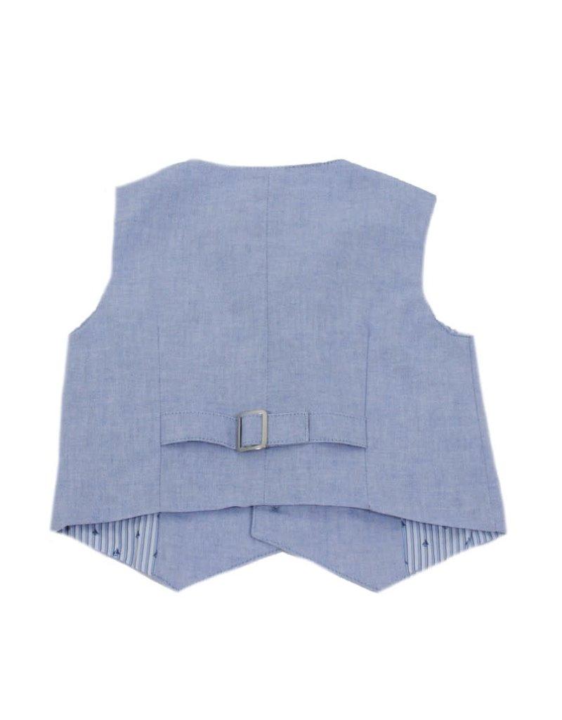 Dr Kid Dr Kid Baby Boy Vest 080-Azul-DK552