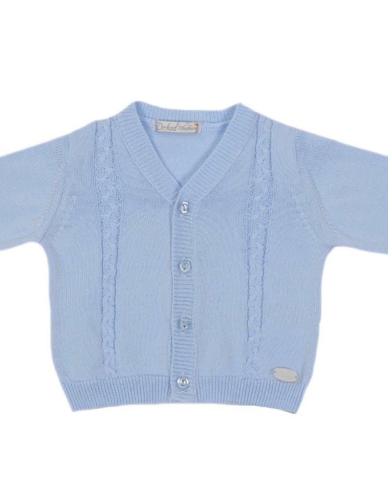 Dr Kid Dr Kid Cardigan (Newborn) 105-Azul Bebé-DK145