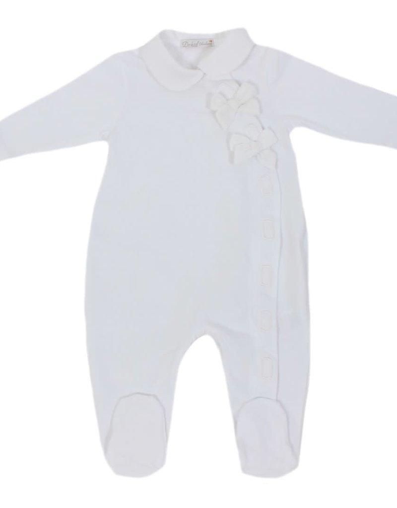 Dr Kid Dr Kid Overall (Newborn) 000-Branco-DK241