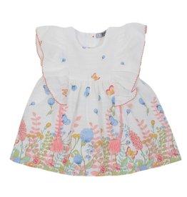 Dr Kid Dr Kid Baby Girl Dress 240-Rosa-DK350