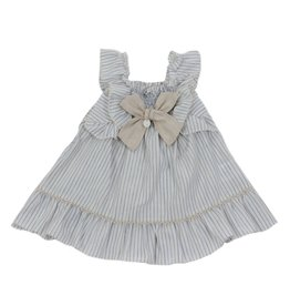 Dr Kid Dr Kid Baby Girl Dress 080-Azul-DK363