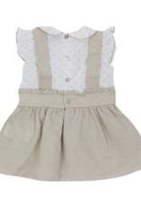 Dr Kid Dr Kid Baby Girl Dress 320-Bege-DK370