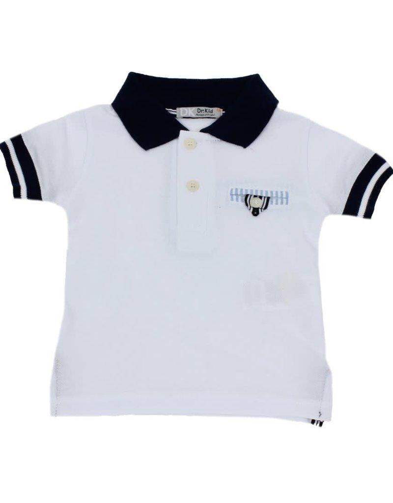 Dr Kid Dr Kid Baby Boy Poloshirt 000-Branco-DK527