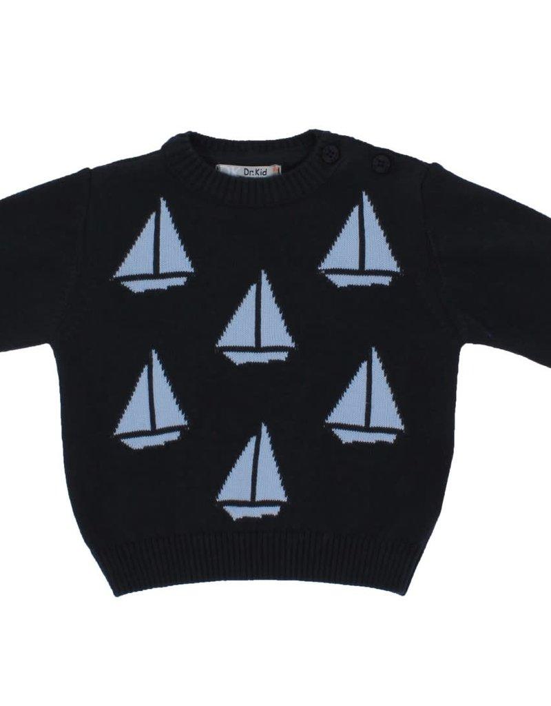 Dr Kid Dr Kid Baby Boy Sweater 280-Marinho-DK550