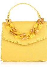 Tas  geel met schakels